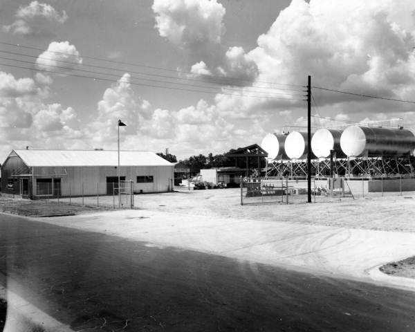 1960: View of the Pure Oil Company bulk plant on French Avenue at Sixth Street in Sanford