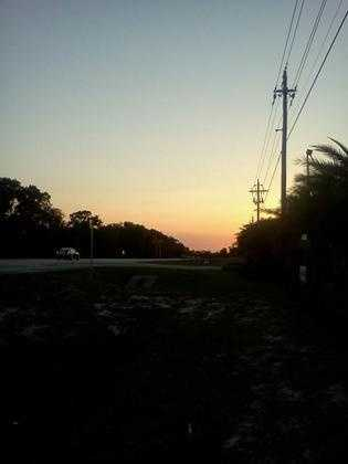 2013: View of sunset in Sanford