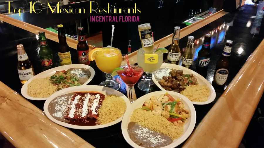 A taco, margarita and chips and salsa make for a great way to satisfy those cravings for Latin cuisine. Check out our top 10 Mexican restaurants in Central Florida, according to our viewers.