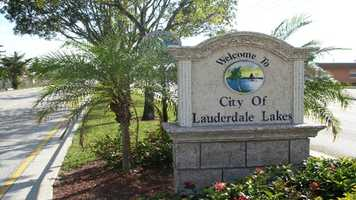 19. Lauderdale Lakes, FLPopulation: 33,644Violent Crimes: 9.99 per 1,000 residentsProperty Crimes: 49.82 per 1,000 residentsTotal Reported Crimes: 59.80 per 1,000 residents