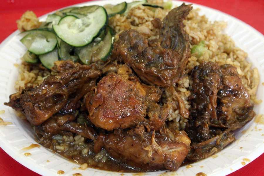 20. Singh's Roti ShopThis Caribbean style kitchen offers a pop of flavor in every dish. We recommend the curried chicken with potatoes and channa.Price range:Under $10Address:5244 Old Winter Garden Rd., Orlando, FL 32811