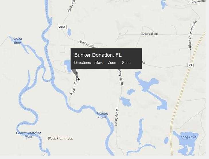 Bunker Donation, Fla. is located in Washington County.