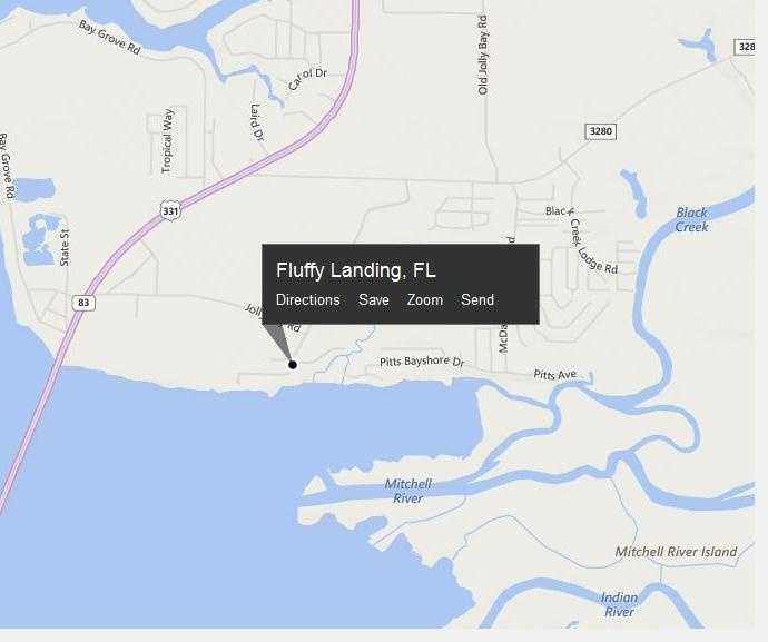 Fluffy Landing, Fla. is located in Walton County.