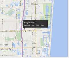 Hollywood, Fla. is located in Broward County.