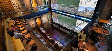 3. Wreckers Sports Bar at Gaylord Palms Resort & Convention CenterWreckers is not only one of Orlando's best hotels bars, it's also one of the hottest sports bars. It features at 37-foot sports screen that shows live sporting events and games every day.