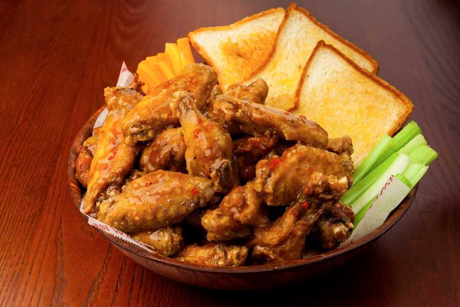 9. East Coast Wings and GrillAddress: 588 S. Alafaya Trail, Orlando, FL 32828
