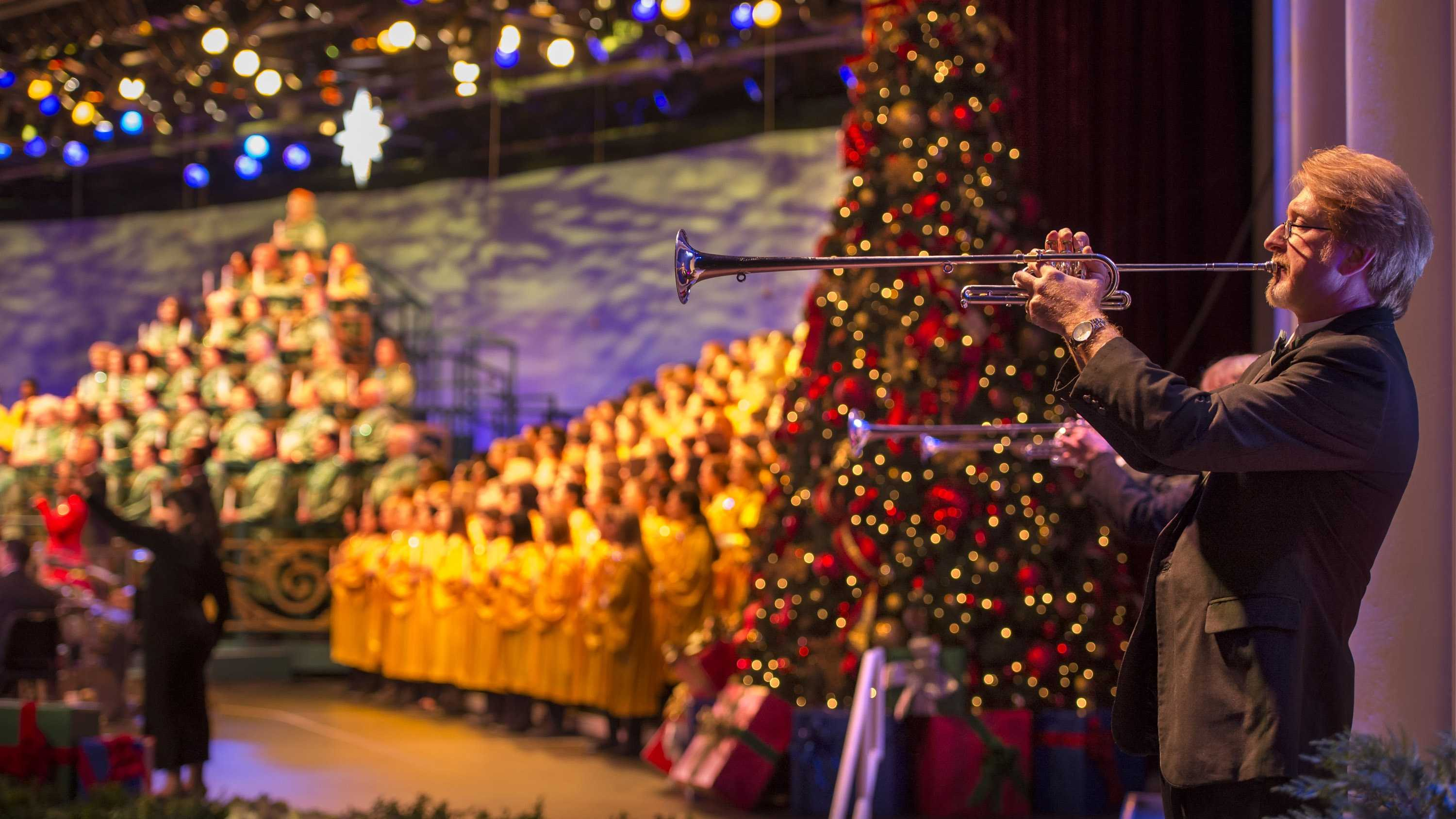 From Nov. 28 through Dec. 30, guests can attend Disney's Candlelight Processional, which will feature a 50-piece orchestra, a mass choir and the retelling of the Christmas story by an impressive lineup of celebrity narrators.