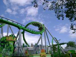 2. Hulk - Universal Islands of Adventure
