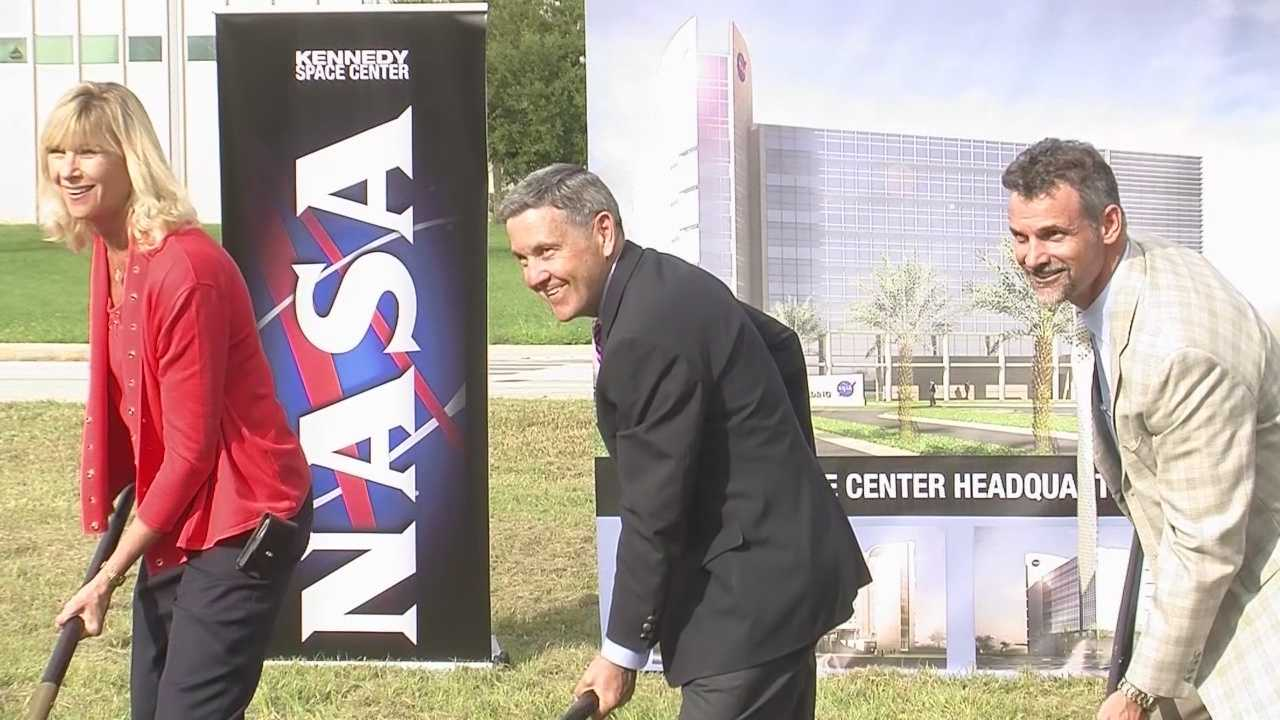 NASA officials have broken ground on a new headquarters building at Kennedy Space Center, which is part of multibillion dollar expansion for Florida's Space Coast.