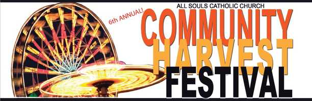 9. All Souls Community Harvest FestivalWhen:Oct. 31, 5 p.m. to 11 p.m., Nov. 1, 11 a.m. to 11 p.m, Nov. 2, 12 p.m. to 8 p.m.Where:All Souls Catholic Church, 3280 W. 1st St., Sanford, FL 32771Admission:Free admission & parkingActivities:Rides, children's games, live entertainment, food, beer and wine vendors, crafts, bingo, raffles