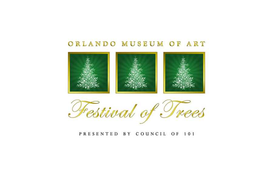 22. Festival of TreesWhen: Nov. 15, All dayWhere: Orlando Museum of Art, 2416 N. Mills Ave., Orlando, FL 32803Admission: $10 for adults, $6 for children ages 3-11, $12 per person to visit Santa, $25 per person for Rudolph's Fast Pass, includes a 5:30 Priority Entry (children under 3 are free)Activities: Showcase of designer decorated trees, gingerbread creations, holiday gift boutique, Toyland Town activity area, Festival Café, live entertainment