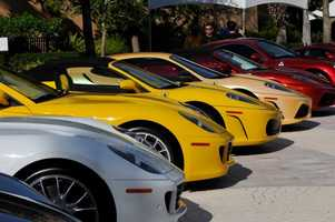 23. Festivals of Speed Orlando at Ritz-CarltonWhen:Dec. 7, 10 a.m. to 4 p.m.Where:4040 Central Florida Pkwy., Orlando, FL 32837Admission:$20 general admissionActivities:Exotic car display (over 300 cars), showcase of motorcycles, aircraft and watercraft, proceeds benefit the Arnold Palmer Hospital for Children