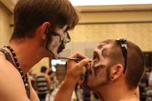 2. Spooky Empire's Ultimate Horror WeekendWhen:Oct. 24 to Oct. 26, beginning at 11 a.m.Where:Doubletree Hotel at the Entrance of Universal Studios, 5780 Major Blvd., Orlando, FL 32819Admission:Oct. 24: advance $30, after Oct. 6 $35, at door $40Oct. 25: advance $35, after Oct. 6 $40, at door $45Oct. 26: advance $30, after Oct. 6 $35, at door $40All three days: advance $50, after Oct. 6, $55, at door $65Children 10 and under freeActivities:There is a lot to be done during this three-day convention. Some of the main activities include tattoo festivals led by top tattoo artists, a Zombie Walk, costume contests and live performances. You can also shop over 200 vending stations with a variety of horror merchandise and much more.