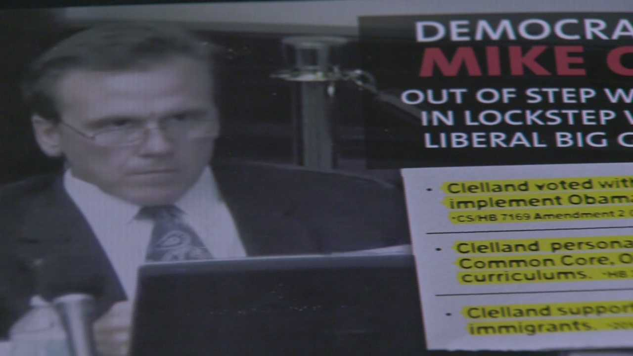 WESH 2 political reporter Greg Fox looks into ads against one candidate running for the District 29 State House race.