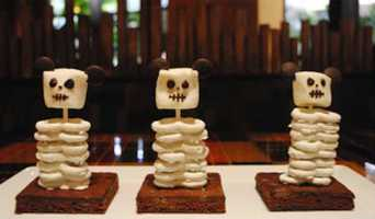 Skeleton Brownies - Disney's Animal Kingdom Lodge