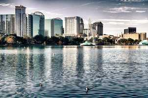 23. Lake Eola ParkDid you know that Lake Eola is actually an 80-foot sinkhole? The park is 43-acres and is right in the heart of Downtown Orlando. You can take a jog around the lake, enjoy a concert or play in the amphitheater or stop by the farmers market on Sundays.