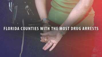 Take a look at which Florida counties have the most drug arrests according to the Florida Department of Law Enforcement. (Counties ranked by drugs arrests as a percentage of population)