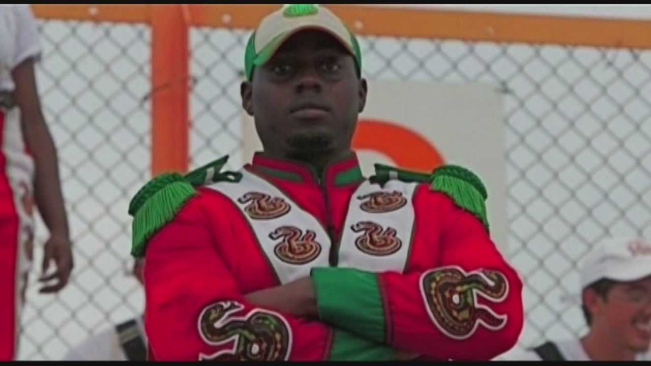 Was the hazing death of a Florida A&M drum major part of a competition?