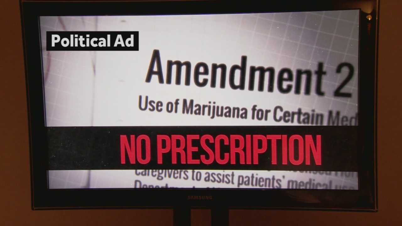 "Are doctors going to be breaking the law and writing illegal prescriptions for pot? That's what a new ad claims in the battle over Amendment 2, Medical Marijuana. WESH 2 political reporter Greg Fox ""weeds out"" the misleading information in this Truth Test."