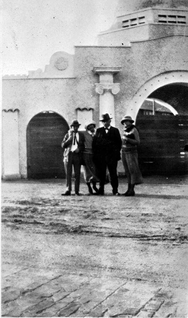 1922: The entrance to the Volusia County Fairgrounds.