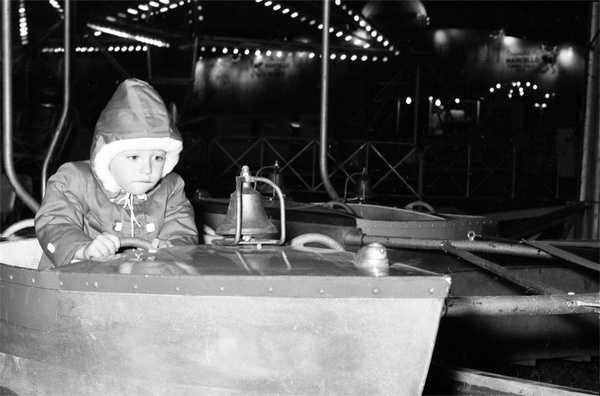1960: A chilly night at the North Florida Fair.