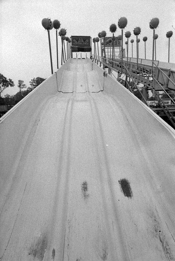 1984: A slide at the North Florida Fair,