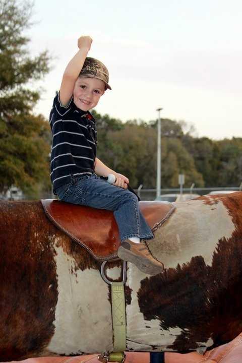 2011: Having fun at the SouthEastern Youth Fair in Ocala.