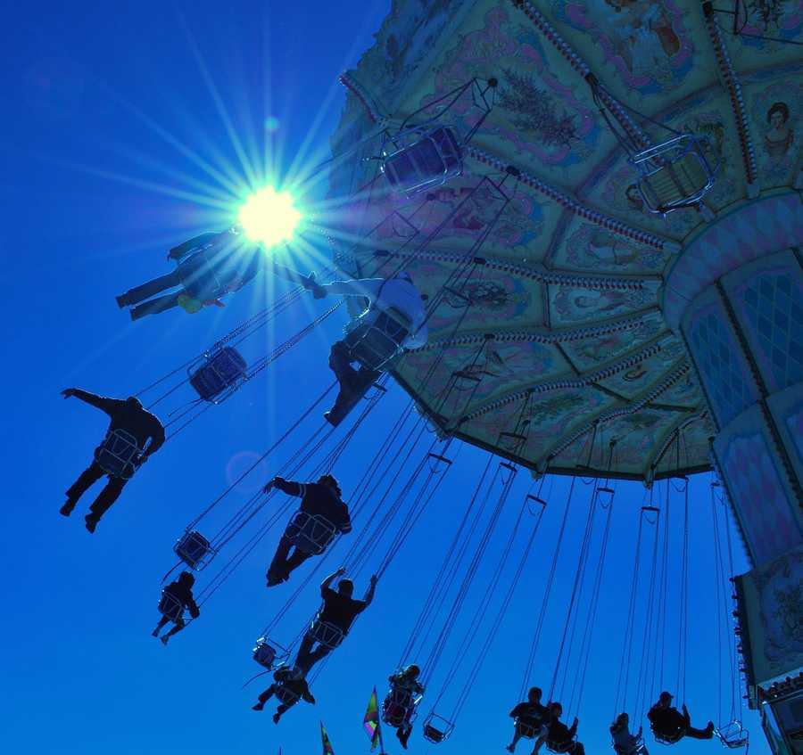 2010: A ride at the Volusia County Fair.