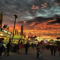 2013: Opening night at the Volusia County Fair.