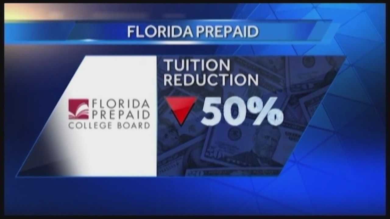 Wednesday marked the start of open enrollment for Florida Prepaid tuition plans, and the prices have been slashed.