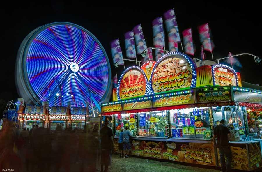 2013: Lights at the Lake County Fair.