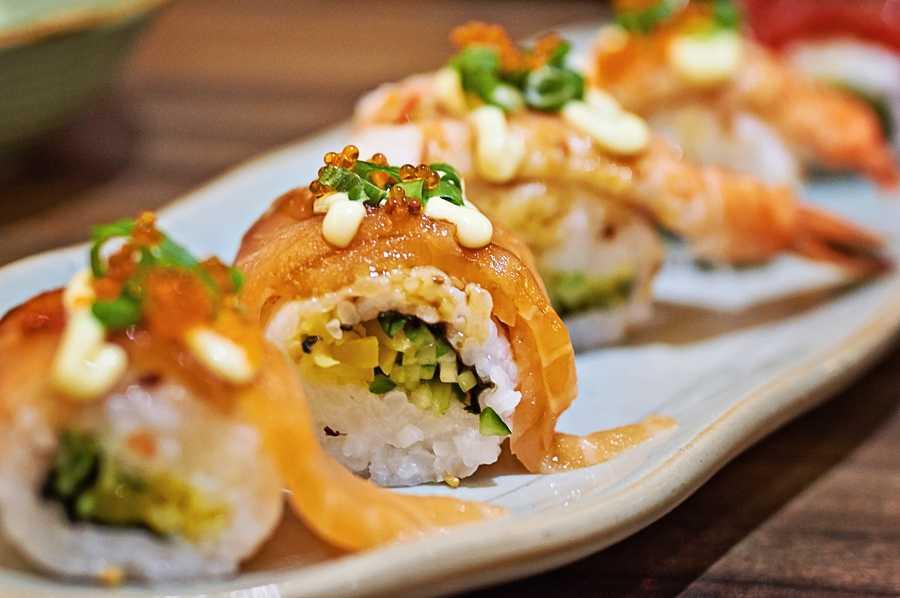 8. Shari Sushi Lounge621 E. Central Blvd.,Orlando, FL 32801