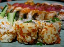 If you're looking for spicy tuna rolls, California rolls or anything else to get your sushi fix, check out our top 10 Sushi restaurants in Central Florida, according to our viewers.