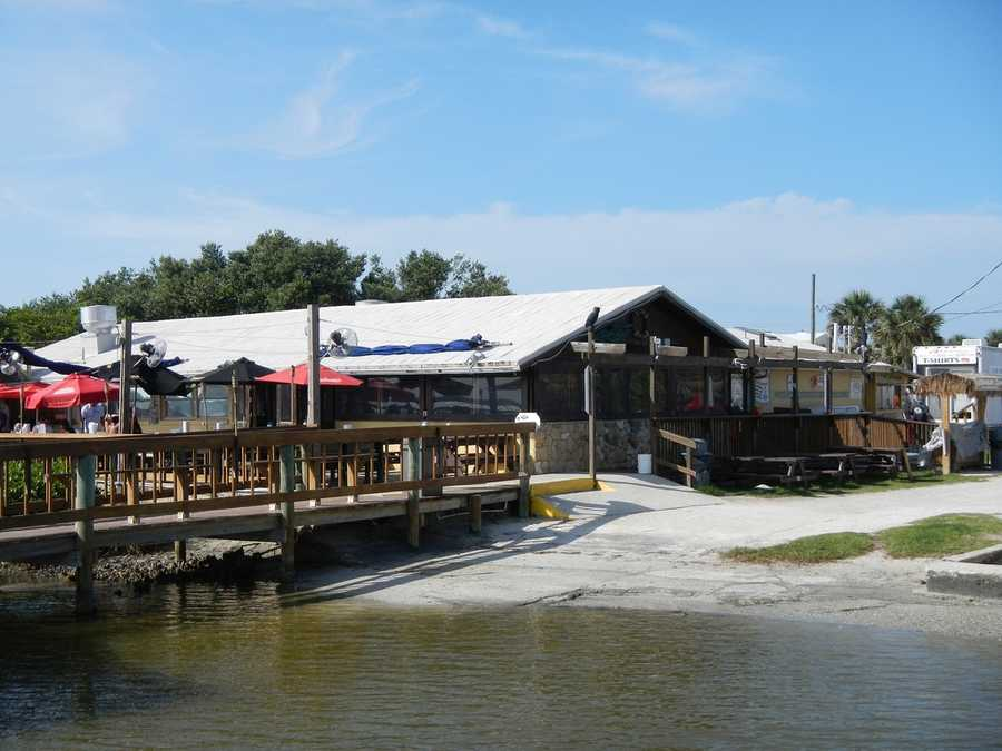 7. JB's Fish Camp Seafood Restaurant Where: 859 Pompano Ave., New Smyrna, FL 32169After a day of Kayaking and Paddleboarding, have a seat on the patio of JB's Fish camp, listen to live music and snack on some alligator, blackened, fried or Cajun fried. Happy Hour is Monday – Friday 4 p.m. – 6 p.m. on all drafts, bottle beer, well drinks and wine.