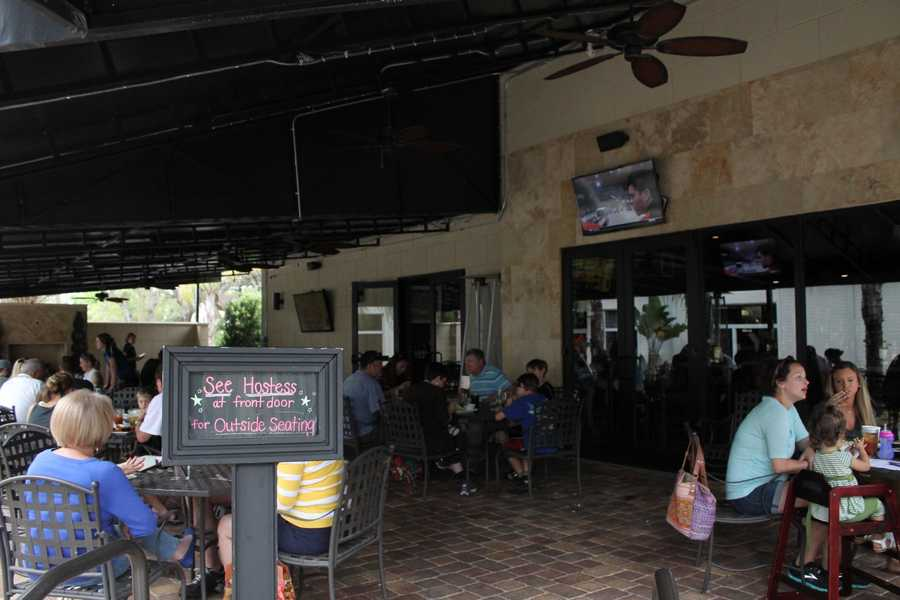 6. 4th Street Bar & Grill Where: 132 N. 4th St., Lake Mary, FL 32746Order some pulled pork egg rolls or grab a BLT with pimento cheese and a fried green tomato. The games are always playing on the televisions and if you stop by on a Tuesday, challenge yourself in trivia from 7-9 p.m. If you win, you'll walk away with a $40 gift card.