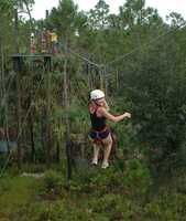 6. Zipline Safari at Forever FloridaHere, you take an exciting zipline safari through the Forever Florida eco-ranch and wildlife conservation area. This adventure allows zipliners to dash through the trees and admire the native landscape.Address: 4755 N. Kenansville Rd., St Cloud, FL 34773