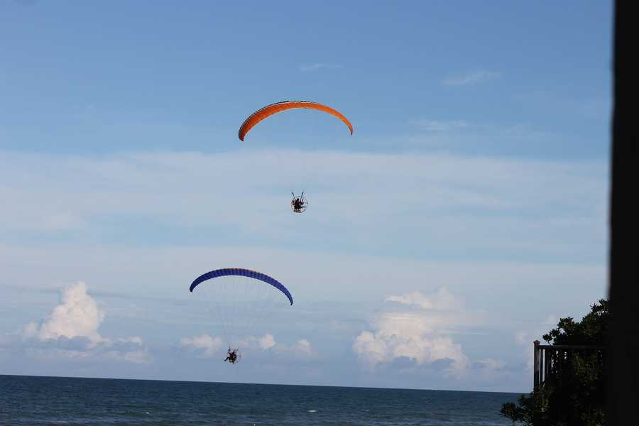 12. Daytona Beach ParasailThis is a great way to get a bird's eye view of the sandy beach and water down below. The ride is more peaceful than anything, but the experience is sure to be an unforgettably thrilling one.Address: 4936 S. Peninsula Dr., Ponce Inlet, FL 32127
