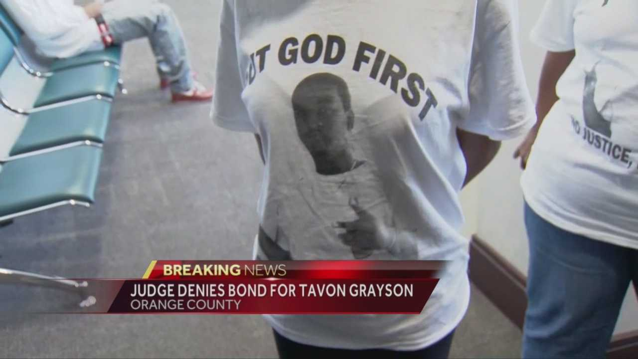 taVon grayson rally