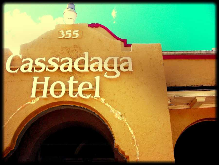 """18. Cassadaga HotelThis town itself offers many thrills for the paranormal enthusiasts and the curious. The hotel is found in the heart of the community, and is the perfect place to visit if """"ghostly gatherings"""" or """"reading retreats"""" are to your liking.Address: 355 Cassadaga Rd., Cassadaga, FL 32706"""
