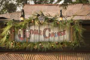 For the holiday season, Jungle Cruise transforms into 'Jingle Cruise' for Magic Kingdom guests with festive decor in the attraction queue and boathouse, holiday names for the Jungle Cruise boats and a slew of seasonal jokes from the Skippers to their passengers.