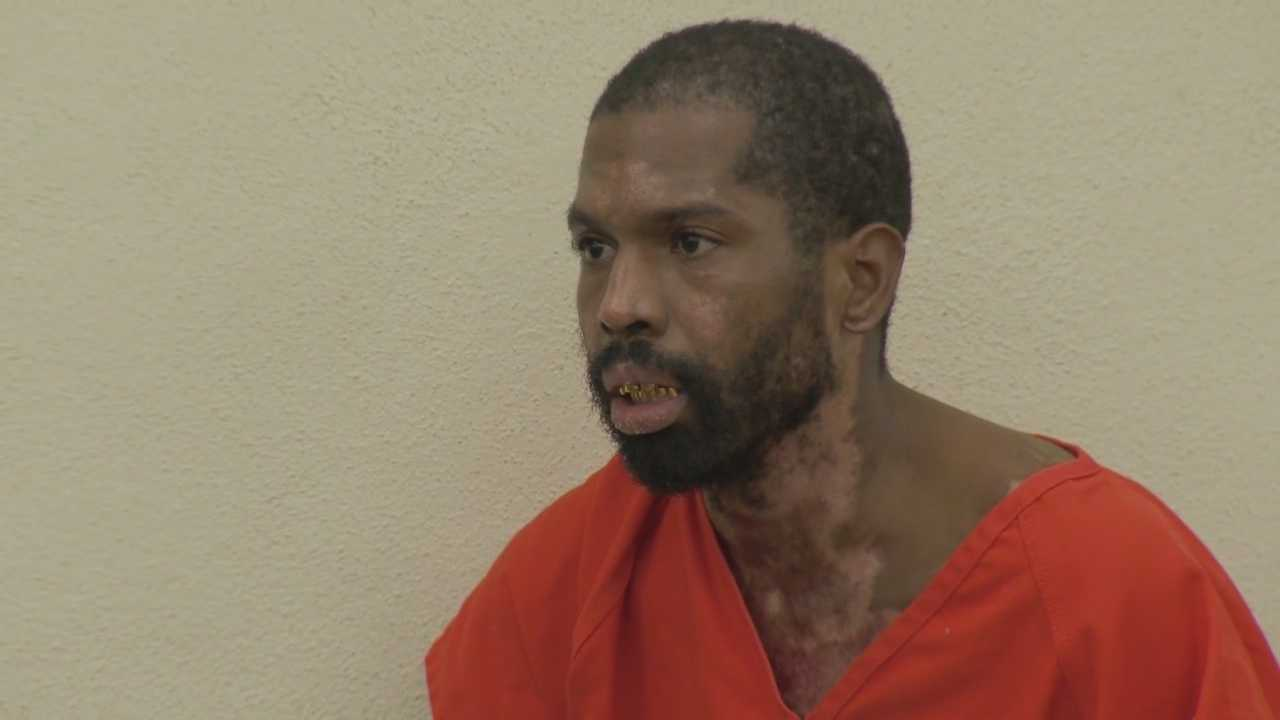 Arthur Avery, who is accused of setting fire to an apartment complex in South Daytona, appeared in court Wednesday to face seven charges of attempted murder.