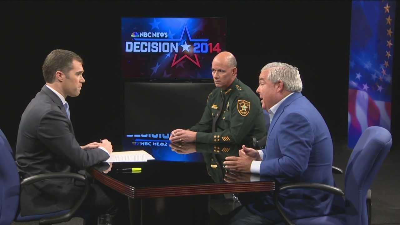 Attorney John Morgan, sheriff Bob Gualtieri and two doctors, hold a live debate on medical marijuana at WESH.