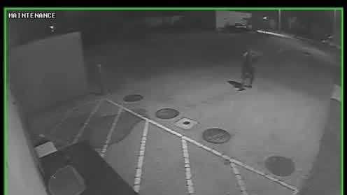 Investigators said surveillance video captured the moment a bus was stolen from Father Lopez Catholic High School in Daytona Beach.