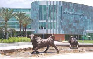 20. University of South Florida-Main Campus - $24,107 in average student loan debt for graduates