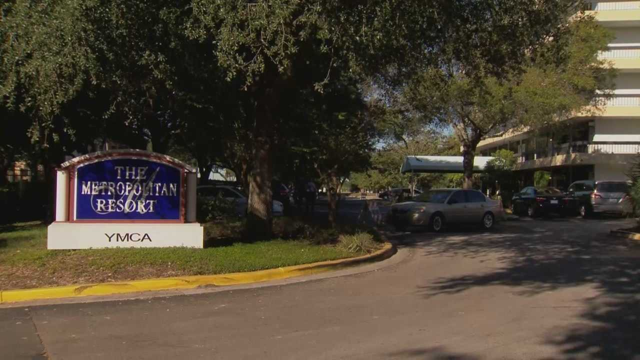 Two people are shot at the Metropolitan Resort in Orlando, according to the Orange County Sheriff's Office.