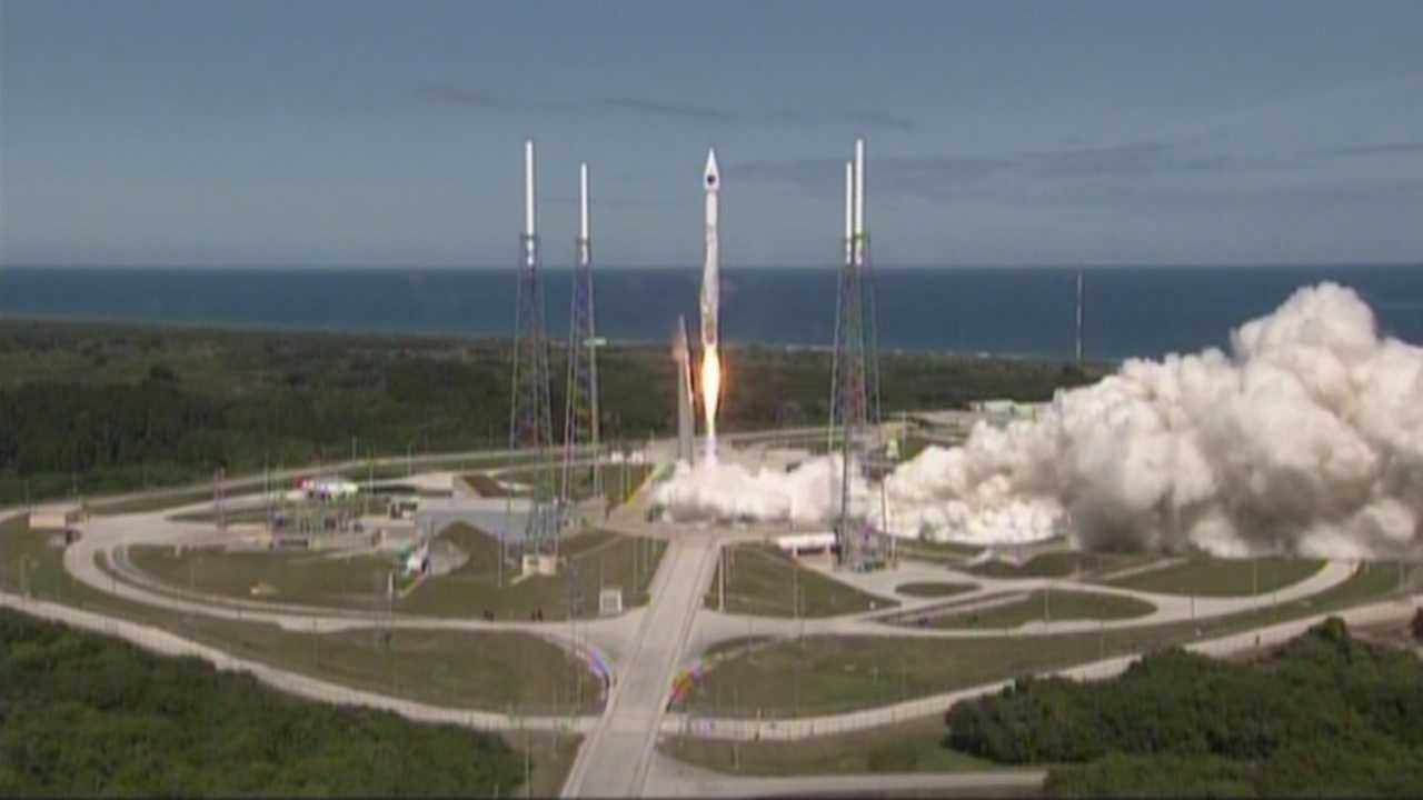United Launch Alliance successfully launch a new GPS satellite for the United States Air Force from Cape Canaveral on Wednesday.