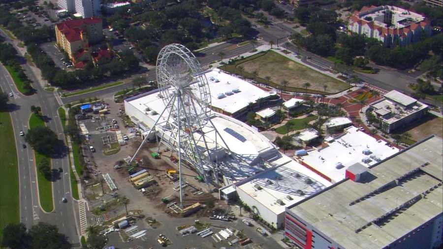 The Orlando Eye is set to open spring 2015.