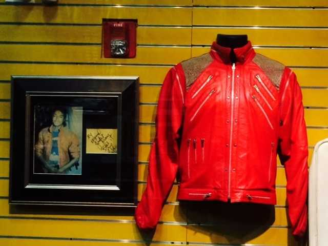 Michael Jackson's jacket from Bad.