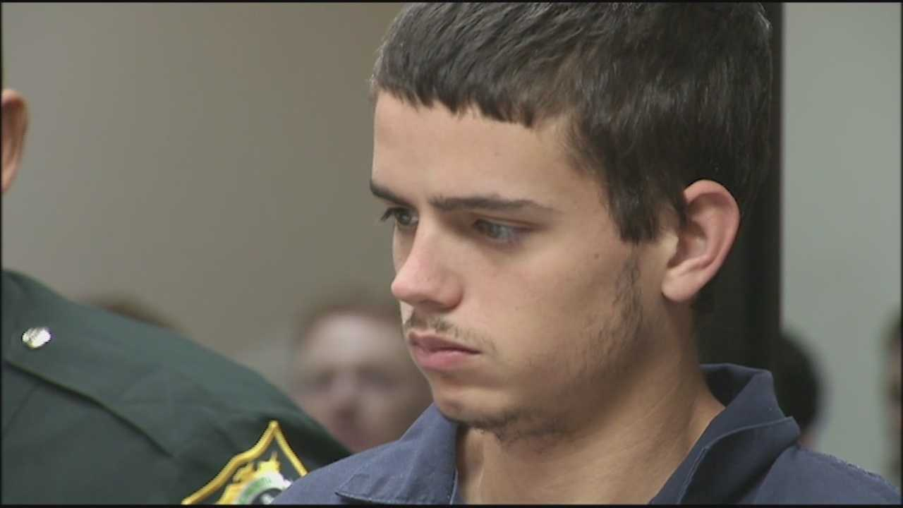 An Oviedo man charged with murder in his mother's death appeared before a judge Monday.