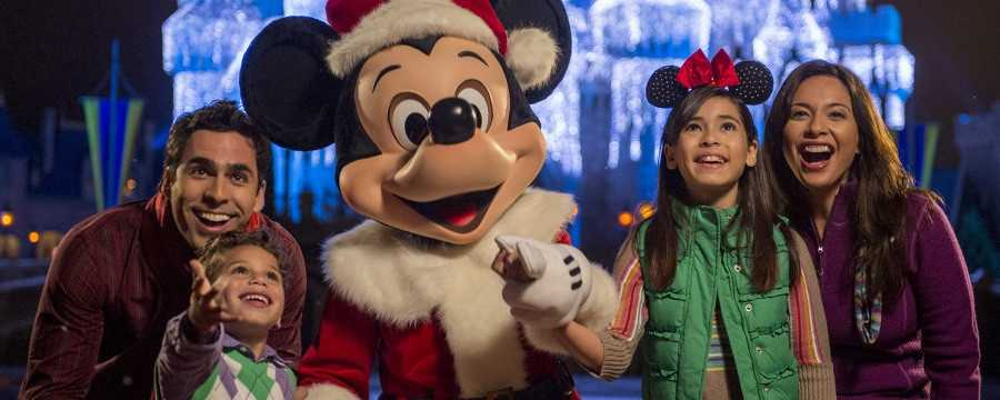 2.Mickey's Very Merry Christmas PartyWhere: Magic Kingdom Park, Walt Disney World  When: 7 p.m. to midnight, on November 7, 10, 13, 14, 16, 20, 21 and 30&#x3B; and December 2, 4, 5, 7, 9, 11, 12, 14, 16, 18 and 19, 2014.Delight in the lights shimmering like ice on Cinderella Castle and hum along with the holiday music that fills the air in Magic Kingdom's annual holiday celebration. Cost: Starting at $67.00, get tickets here.